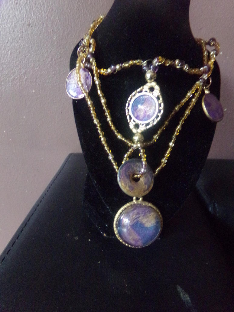 sherazade necklace by Sandy-reaper