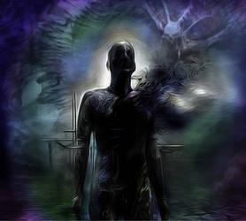 Shadow man by Sandy-reaper