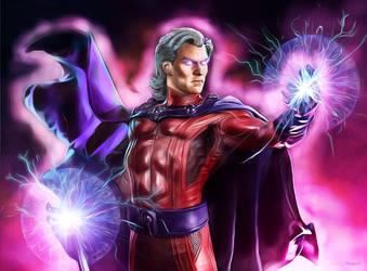 Magneto by Sandy-reaper