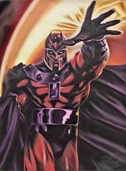 Again Magneto by Sandy-reaper