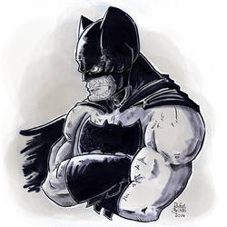 Batman by rfl-obc