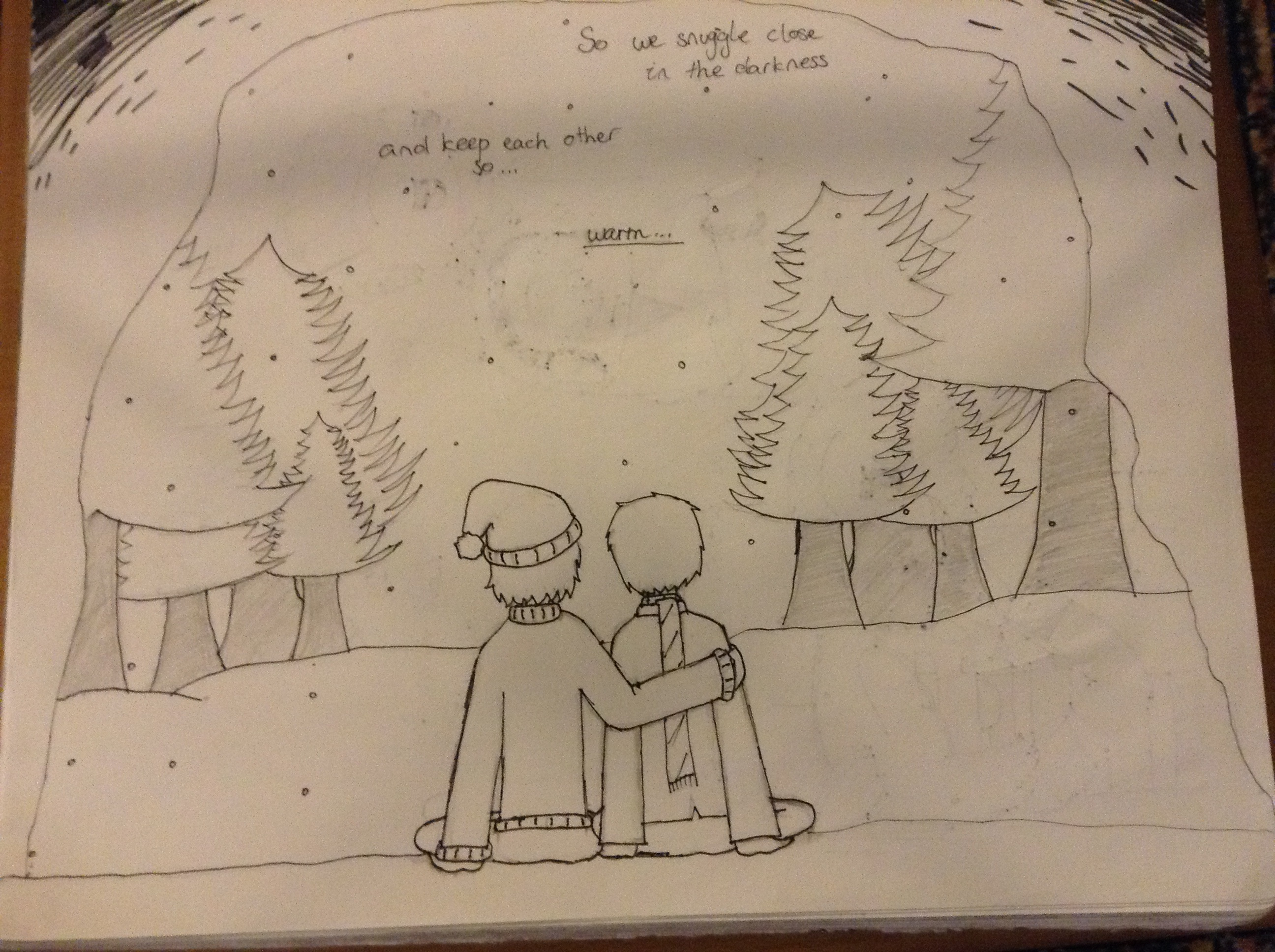 Doudil40- Snuggle Up In The Darkness by Doug675 on DeviantArt  Doudil40