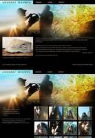 Andrzej Mrowca - web design by bognART