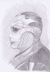 Thane Krios by annelune