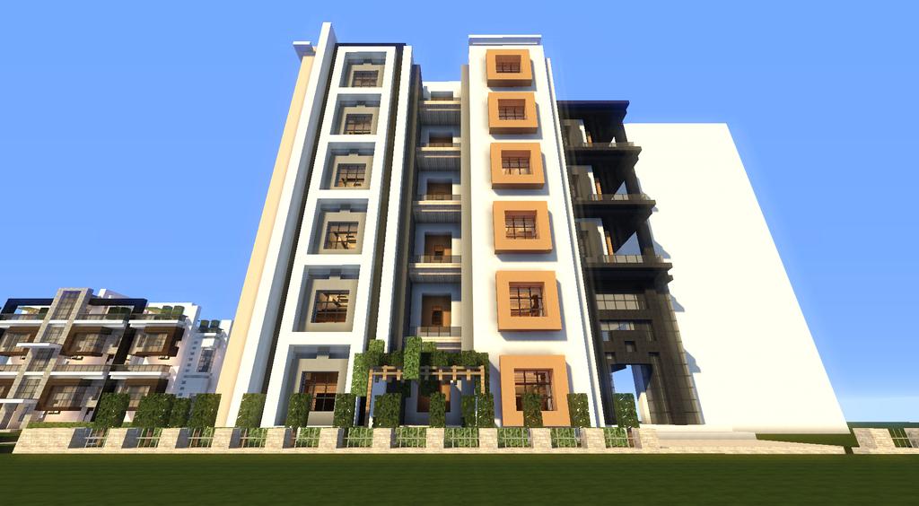 Dessin artwork fan art animation 3d build page 11 for Image immeuble moderne