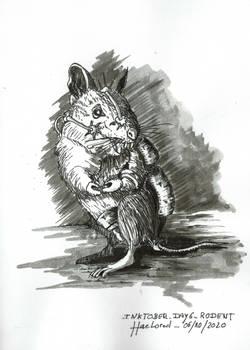 Inktober 2020 Day6 Rodent