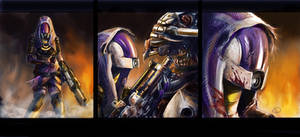 ME3 Ending: Hold the line, Tali!