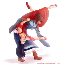 Korrasami - It don't mean a thing...