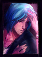 Life Is Strange: A desperate Chloe by Ma-rin