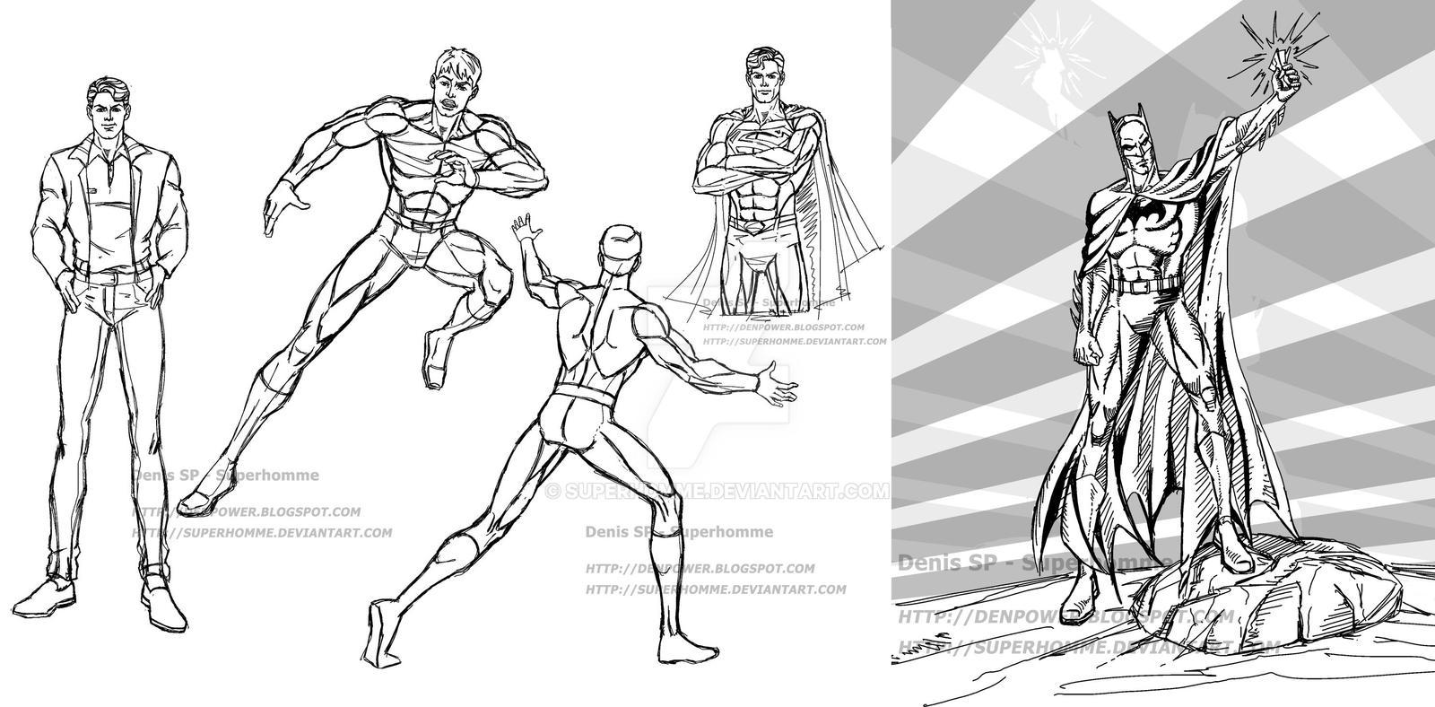 Mens sketch - Batman