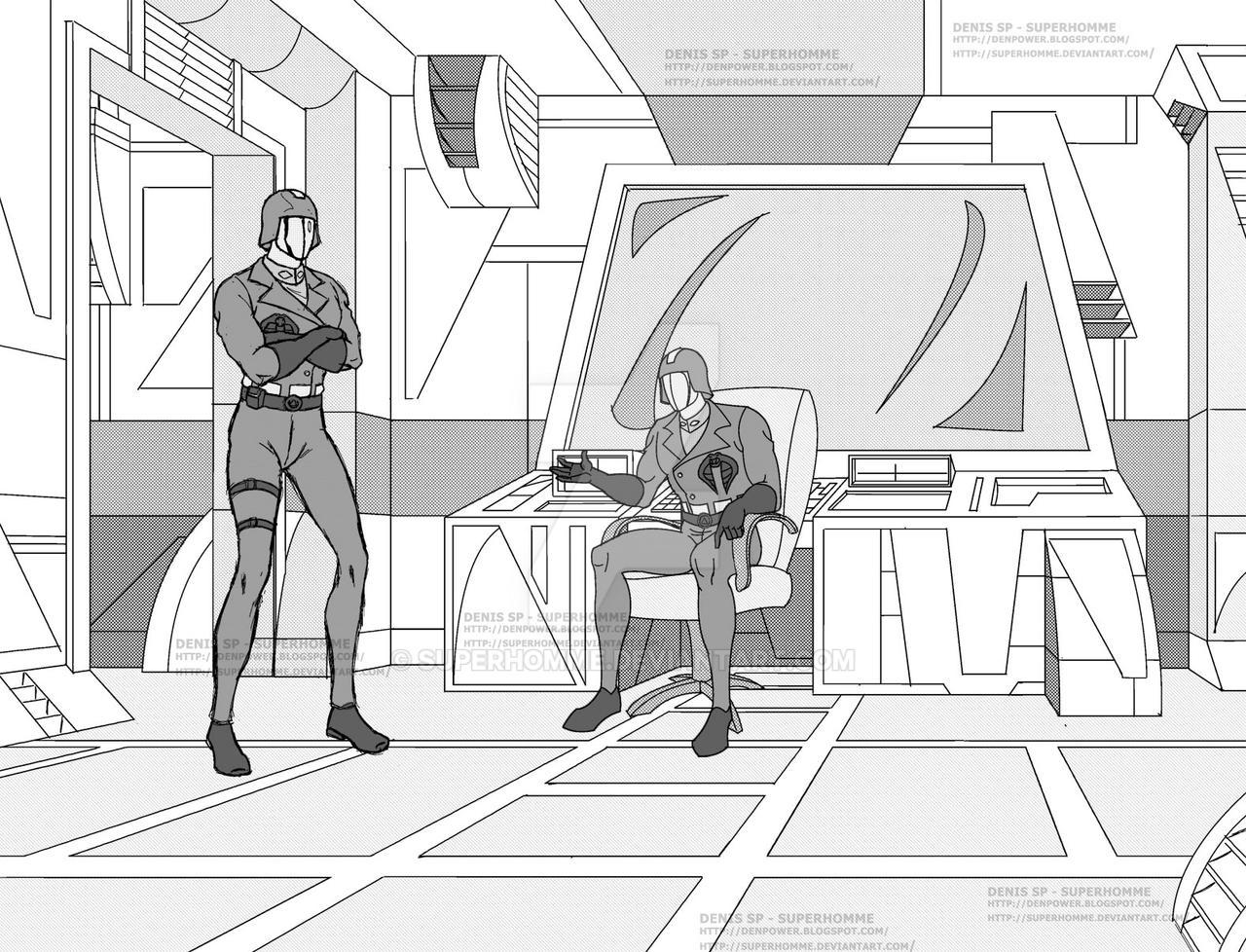 Cobra Commander - Commandant Cobra