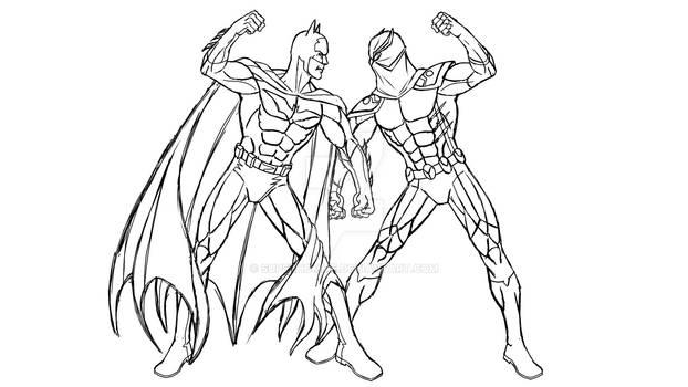 Batman VS Talon