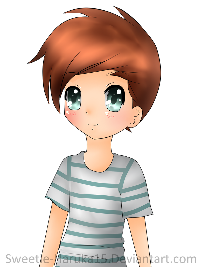 One direction anime louis