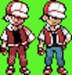 Pokemon Trainer Red Colourised by daiches99