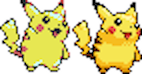 Pikachu Colourised Crystal by daiches99