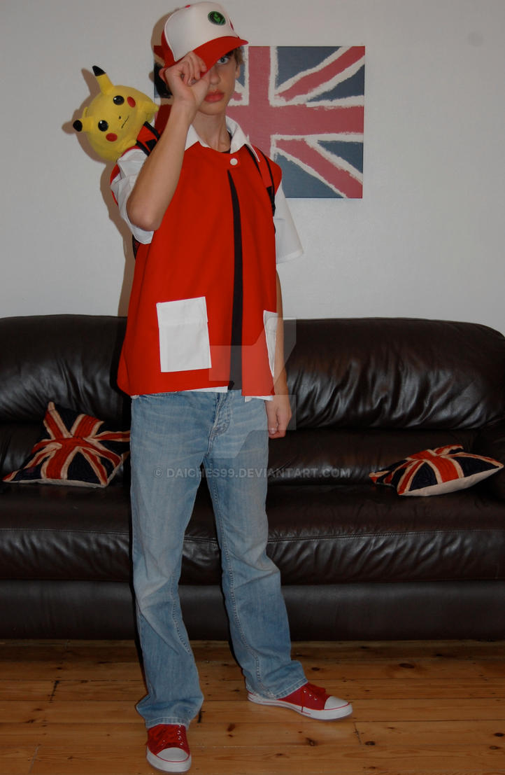 Pokemon Trainer Red Cosplay by daiches99