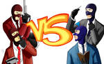 Red vs Blue spies