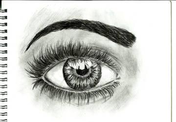 Eye by LilithHatchersoon