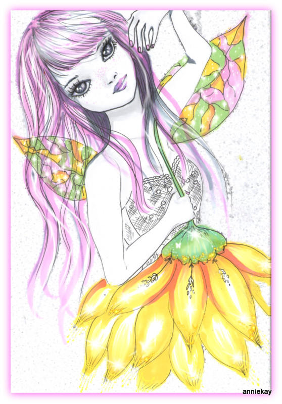 sunflower fairy by kavouranny