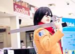 Shingeki No Kyojin - Mikasa Ackerman by RottenCasket
