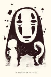 Le Voyage de Chihiro by CookiesOChocola