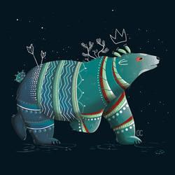 Bear Alebrije by CookiesOChocola