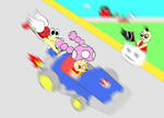 MKDD Toadette and Daize