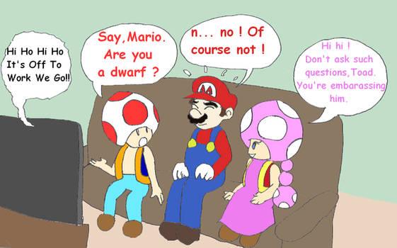 TR 57 - Mario isnt very tall...