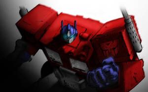 Joe Madureira's Optimus Prime by sohai