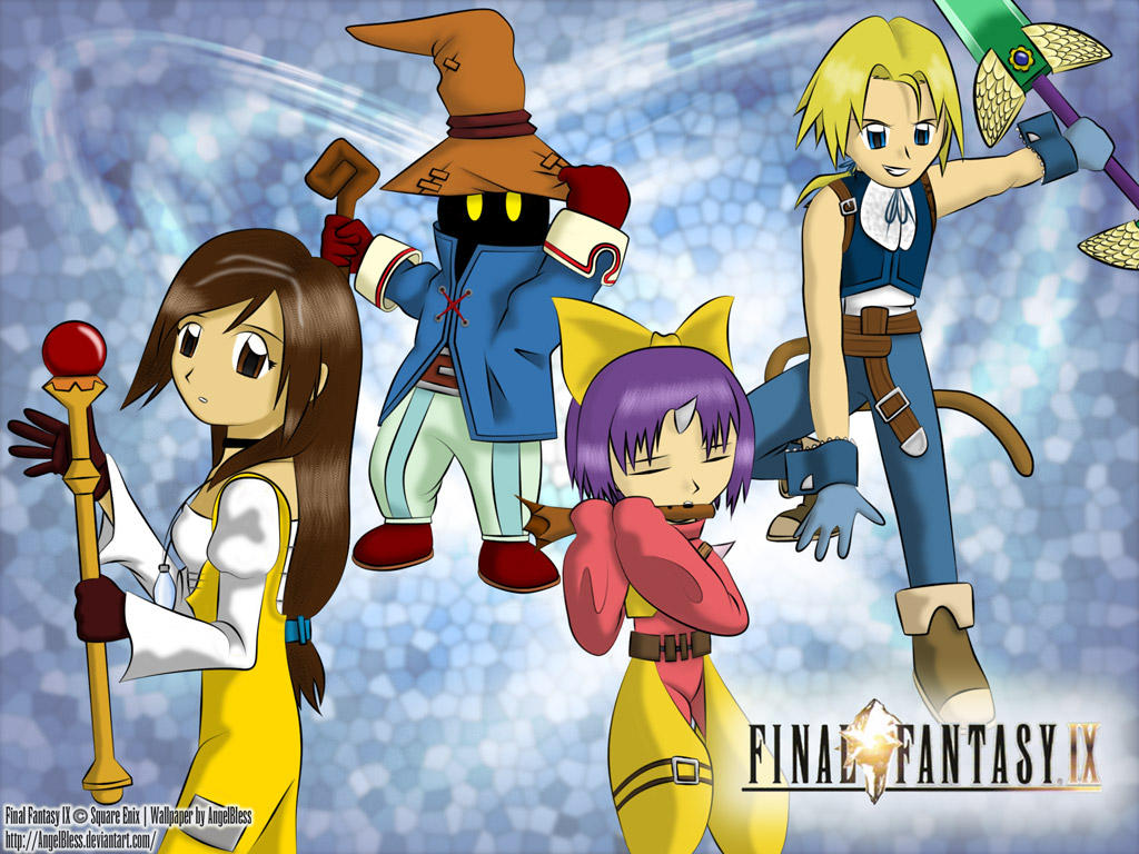 Final Fantasy IX by AngelBless