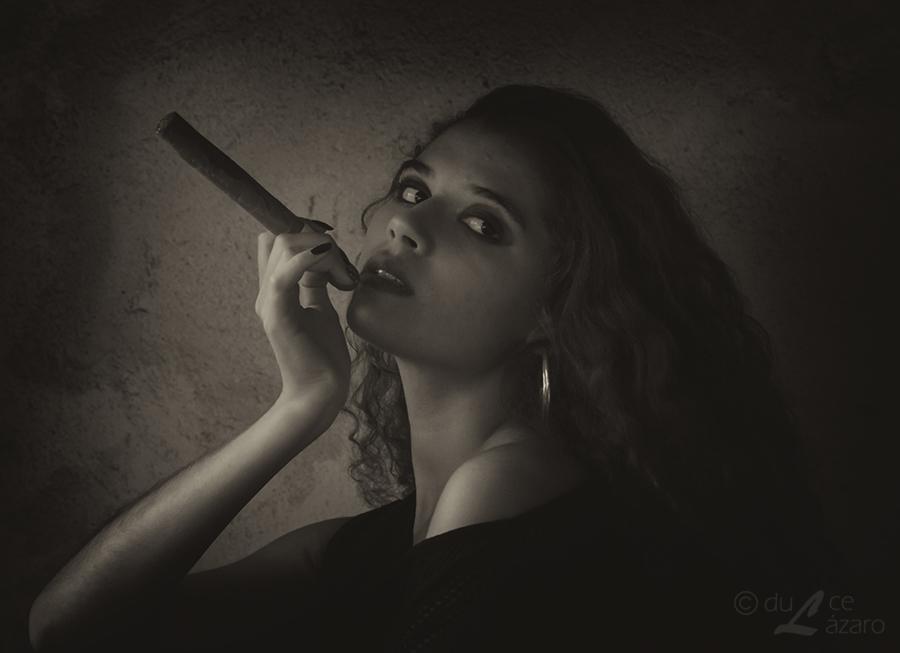 The cigar by du-la