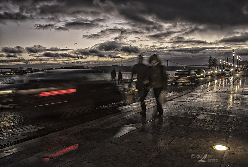 Rainy night by du-la
