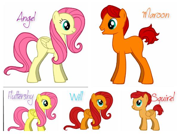 my little pony fluttershys parents