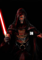 Darth Revan Undercity Cover by sandraCmartins