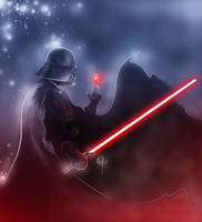 Darth Vader Undercity Cover by sandraCmartins