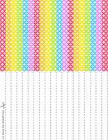 Rainbow Splash Stars Set 2 by blackheartqueen