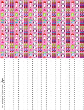 Hello Kitty N Mimmy Star Paper