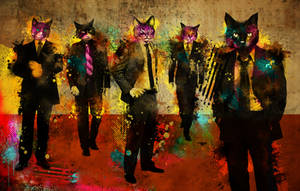 Cats in Suits by Nonsense-Prophet