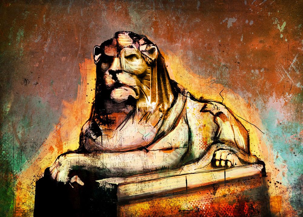 Nottingham Council House Lion by Nonsense-Prophet