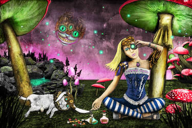 Alice in Wonderland Steampunk