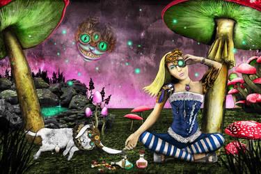 Alice in Wonderland Steampunk