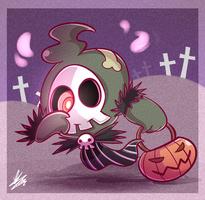 .:Duskull in Halloween:. by MimiGuerrero