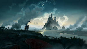 River Castle Concept Art by MDanecka