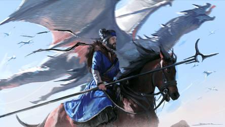 Heading For Battle by MDanecka