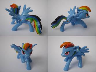 Rainbow Dash miniature