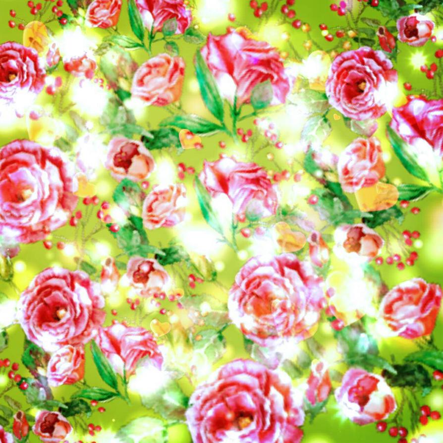 Flower Spark Background By PrincessAlice15 On DeviantArt