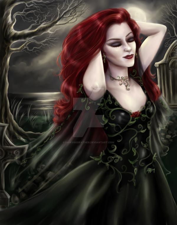 Gothic Garden by FairyGodfather