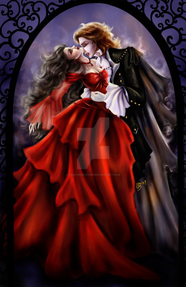 Vampires Kiss By FairyGodfather On DeviantArt