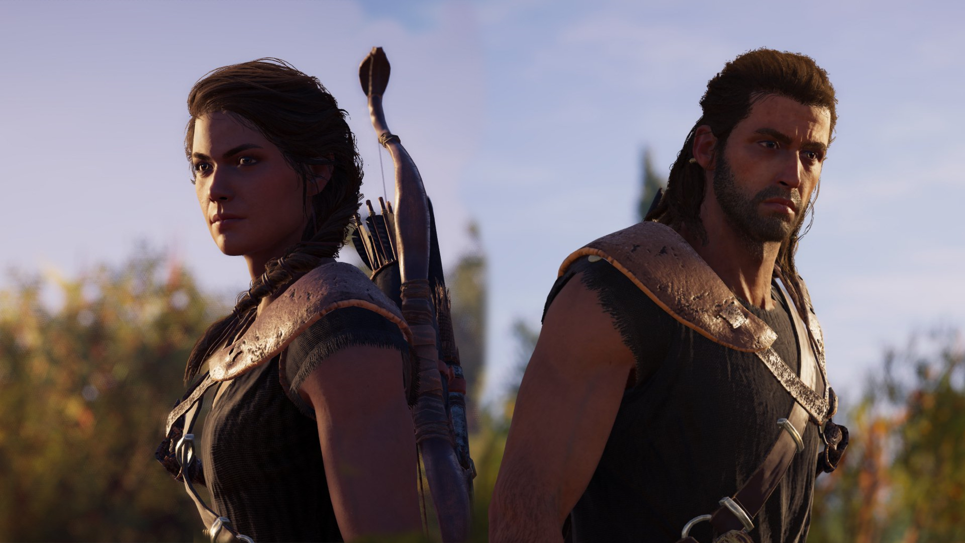 Assassins Creed Odessey Kassandra And Alexios By Rk89k On Deviantart