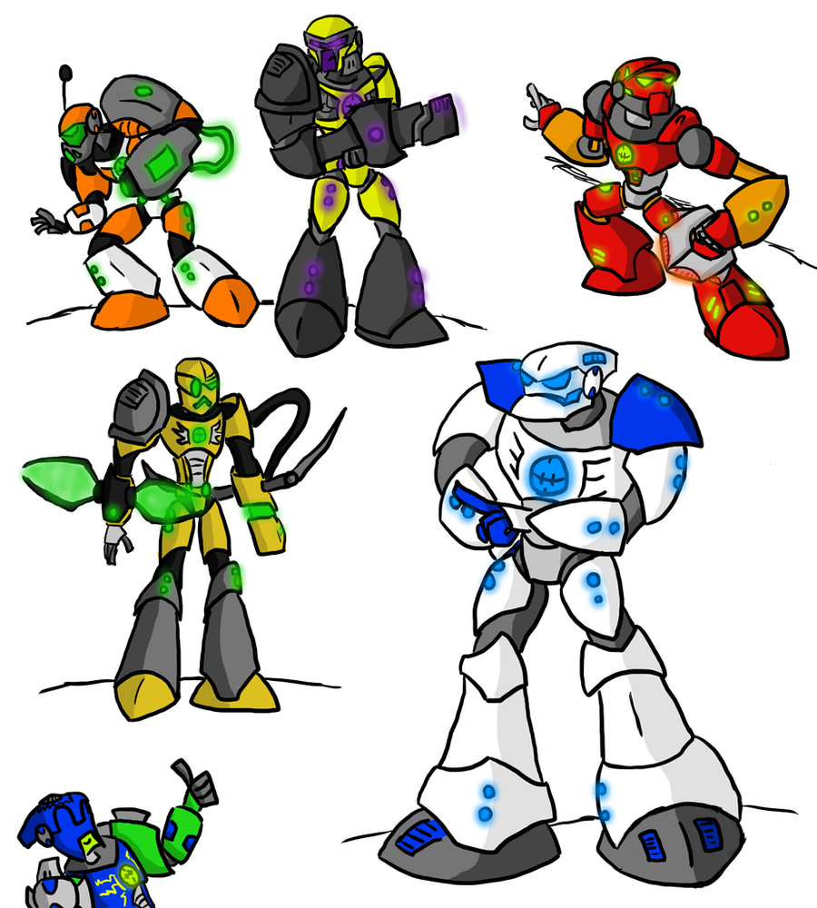 hero factory heroes by kalhiki - Hero Factory Coloring Pages Furno